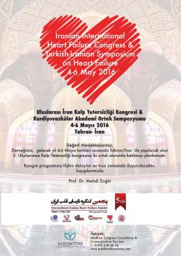 Uluslarası İran Kalp Yetersizliği Kongresi & Kardiyovasküler