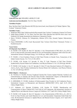 2015 Raporu - Kocaeli Üniversitesi Ar