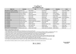 30 11 2015 programları