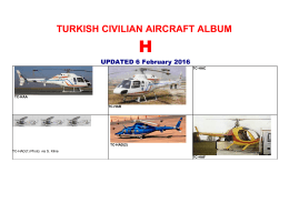 TURKISH CIVILIAN AIRCRAFT ALBUM