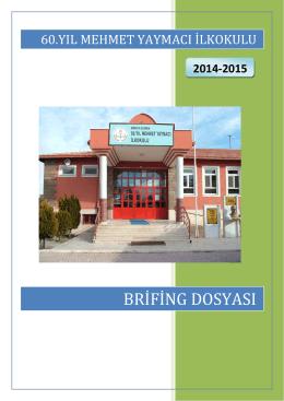 3. Personel Bilgileri - ÇUMRA - 60.Yıl Mehmet Yaymacı İlkokulu