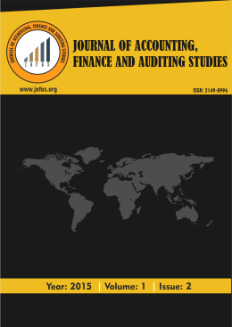 Sektör Dağılımı - Journal Of Accounting, Finance And Auditing Studies