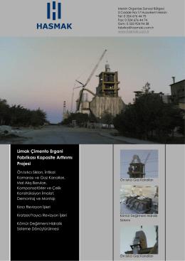 Limak Çimento Ergani Fabrikası Kapasite Arttırımı Projesi