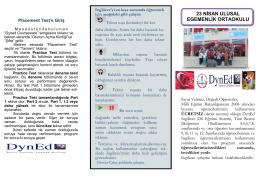 dyned bilgilendirme broşürü - 23 Nisan Ulusal Egemenlik Ortaokulu