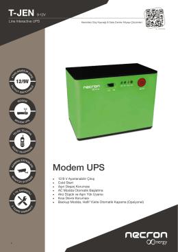 T-JEN 9-12V Modem UPS