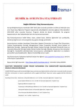 HUSBİK - Hacettepe Üniversitesi Avrupa Birliği Ofisi