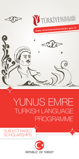 Yunus Emre Turkish Language Programme