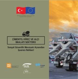 Çimento, Kireç ve Alçı İmalatı Sektörü - kit