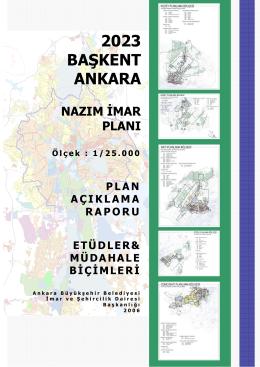 2023 BAŞKENT ANKARA - Ankara Büyükşehir Belediyesi