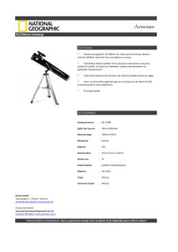 76/700mm Teleskop