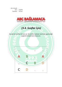 Abc Bağlamaca 1 Cevaplar