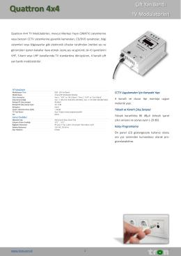 Quattron 4x4 - Tron Elektronik