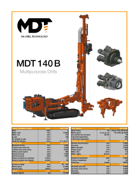 MDT 140 B - TBT Makina