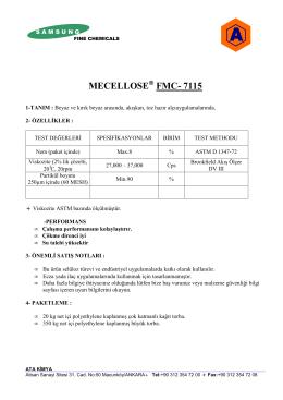 MECELLOSE FMC- 7115