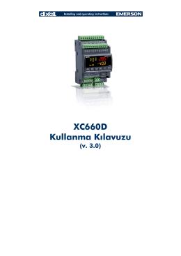 XC660D Kullanma Kılavuzu - Alroy İklimlendirme ve Otomasyon