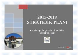 Stratejik Plan - Gazipaşa İlçe Milli Eğitim Müdürlüğü