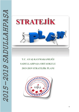 Stratejik Planımız - ayaş
