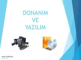 donanım ve yazılım - Etlik Anadolu İmam Hatip Lisesi