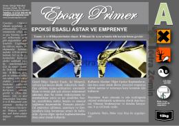 Epoksi Primer EPSS011