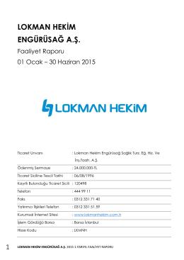 Faaliyet Raporu 30062015