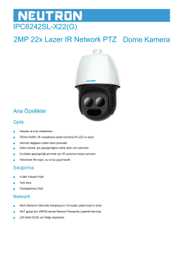 IPC6242SL-X22(G) 2MP 22x Lazer IR Network PTZ Dome