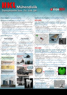 Medikal Poster - HKL Mühendislik Danışmanlık