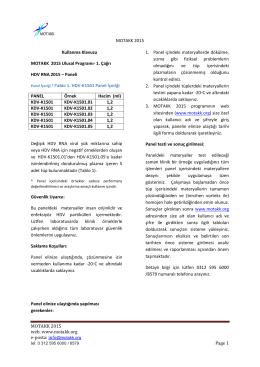 1. Çağrı HDV RNA 2015