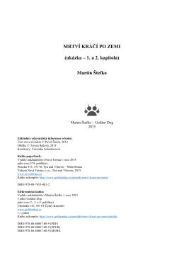 MRTVÍ KRÁČÍ PO ZEMI (ukázka – 1. a 2. kapitola