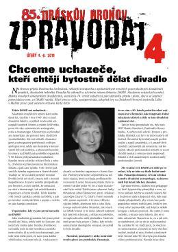 Zpravodaj číslo 4