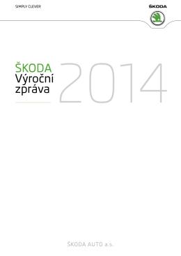 ŠKODA Výroční zpráva