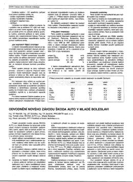 Odvodnění nového závodu Škoda auto v Mladé Boleslavi