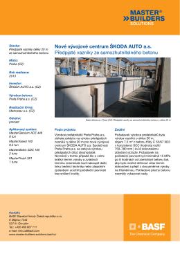 Nové vývojové centrum ŠKODA AUTO as - Asset