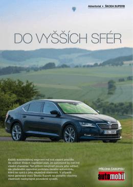 Příloha Škoda Superb z časopisu Automobil 7