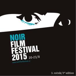 Festivalový katalog - Noir Film Festival