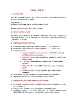 Reglement CZ verze