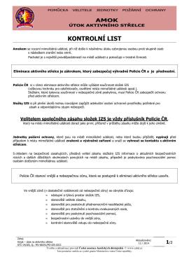 KJPO15mmdd - AMOK - Česká asociace hasičských důstojníků