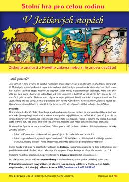 V Ježíšových stopách - Brněnská tisková misie