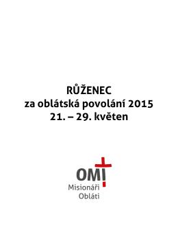 Růženec za OMI povolaní 2015