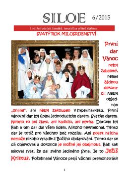 První dar Vánoc Ježíš