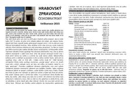 Hrabovský zpravodaj Českobratrský