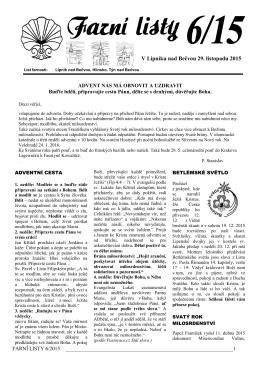 06/2015 - Farnost Lipník nad Bečvou