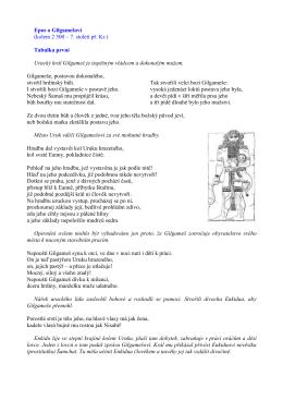 gilgames - malinovysvet.cz