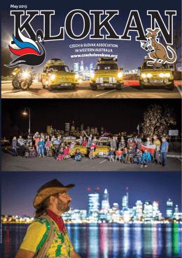 May 2015 - Česká a slovenská asociace v Západní Austrálii