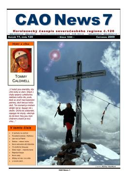 CAO News 2009/07