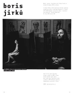 zde - Malíř, sochař, ilustrátor prof. Boris Jirků