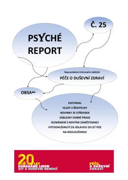 PR_25 - Péče o duševní zdraví