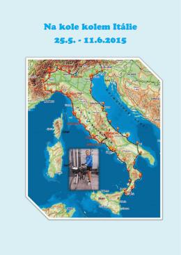 Okolo Itálie na kole