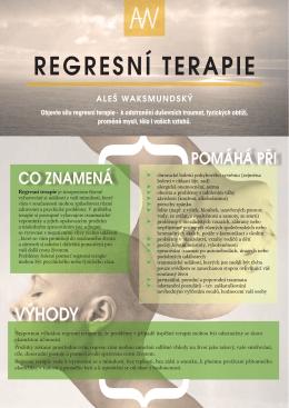 REGRESNÍ TERAPIE - Info