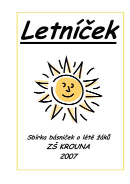 Letníček - Základní škola Krouna