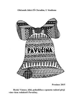 Pavucina prosinec 2015-16
